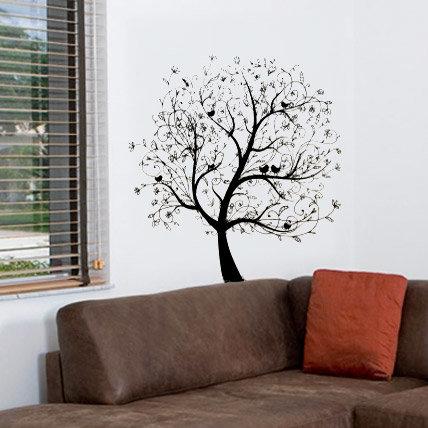 Интерьерная наклейка Дерево (2)