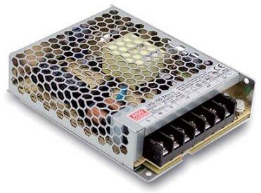 Преобразователь AC-DC сетевой Mean Well LRS-100-12 102Вт, вход 85…264В AC, 47…63Гц / 120…370 В DC, выход 12В/8.5A, рег. вых ±10% , изоляция 3750В AC,