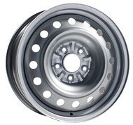 Штампованный диск Евродиск - ФМЗ 53E45H 5.5x14 4x114.3 ET45.0 D67.1 Серебристый - фото 1