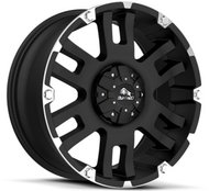 Колесный диск Buffalo BW-004 8,5 \R18 5x127 ET25.0 D78.3 Gloss-Black-Machined - фото 1