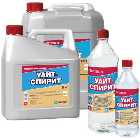 Уайт-спирит, растворитель (1 литр)
