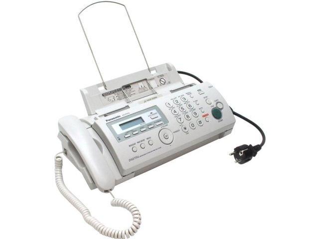 Panasonic KX-FP218RU факс (A4, обыч. бумага, А\Отв)