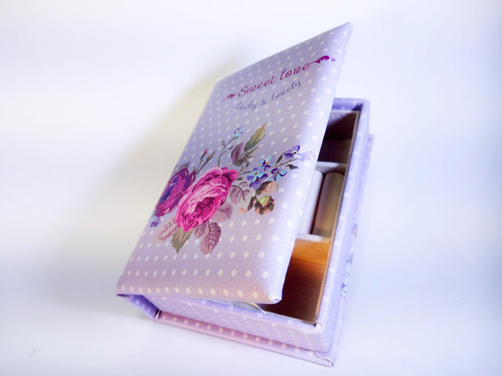 Шкатулка для украшений «Первая любовь»