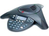 Телефон Polycom SoundStation2 для конференций черный 2200-16200-122