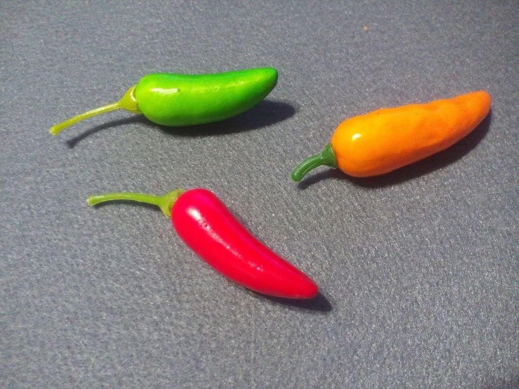 Перчики Чили, длина 60 мм, цена за 1 шт