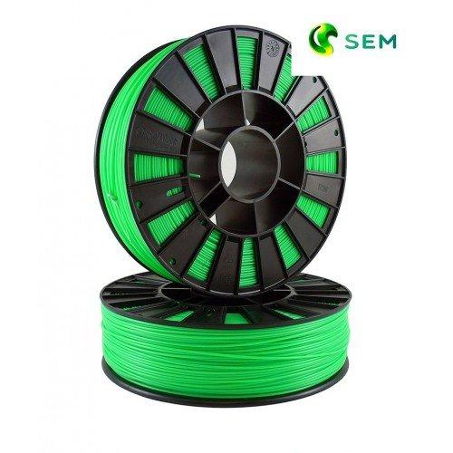 пластик ABS для 3д принтера ABS пластик 1,75 SEM флуоресцентный зеленый