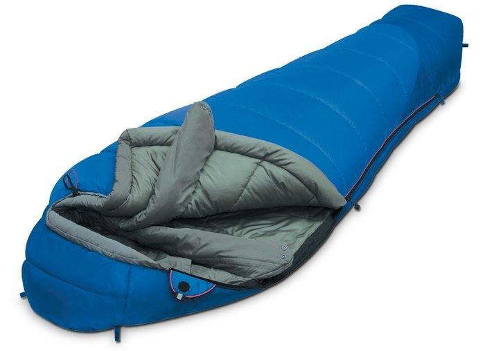 Спальный мешок Alexika Mountain Compact Синий левый