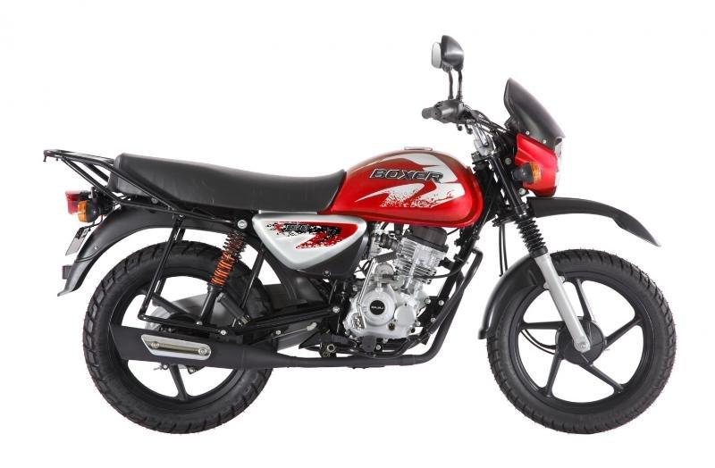 Мотоцикл Bajaj Boxer BM 150 X Двиг. 4Т 144.82 см3 12.0 л.с. (Индия) красный BAJAJ-BM-150X-RED
