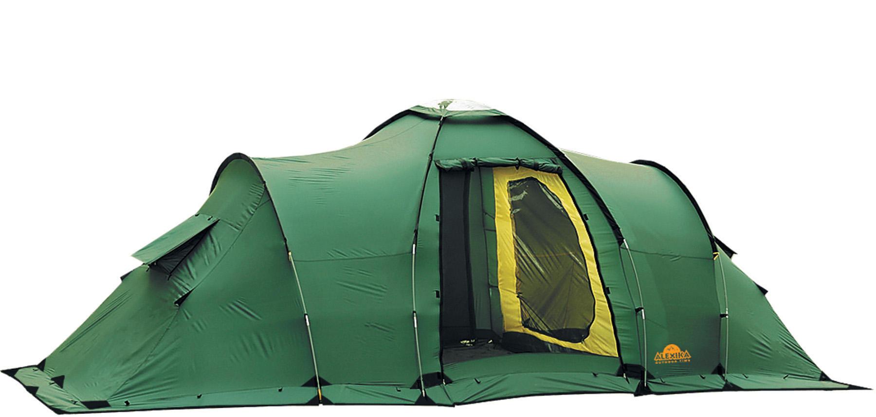 Палатка Alexika MAXIMA 6 LUXE green 9151.6401