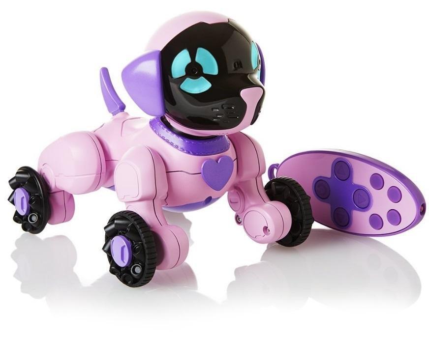 Интерактивная cобачка WowWee Чиппи розовая - 3817-W