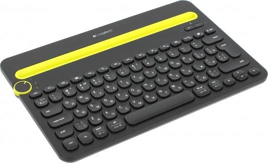 Клавиатура Logitech K480 Multi-Device Keyboard Bluetooth черный 920-006368