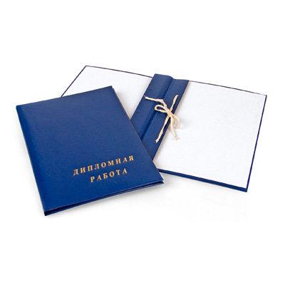 Книги Дипломные работы по туризму в Благовещенске товаров  Папка Дипломная работа А4 бумвинил синяя 3 отверстия шнур