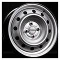 Штампованные диски Trebl 53A43C 5,5x14 4/100 ET43 d60,1 (silver) - фото 1