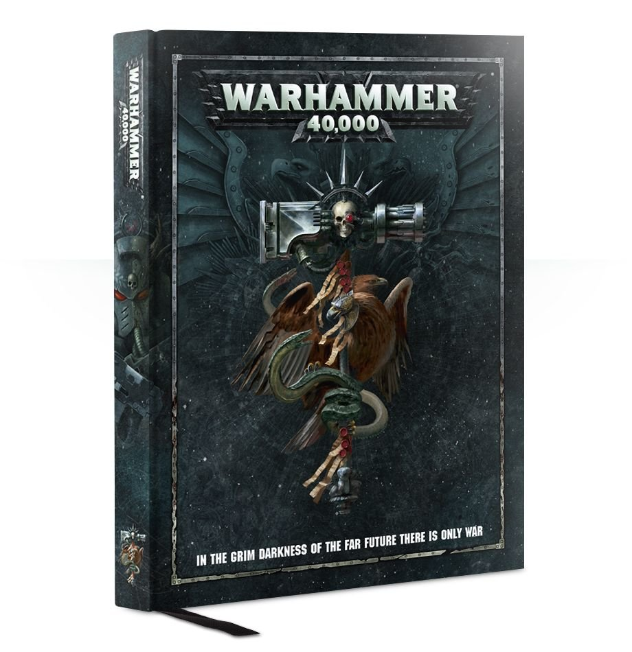 Warhammer: Книга Правил Warhammer 40,000 / Warhammer 40,000 Rulebook (Hardback) (арт. 40-02-60)