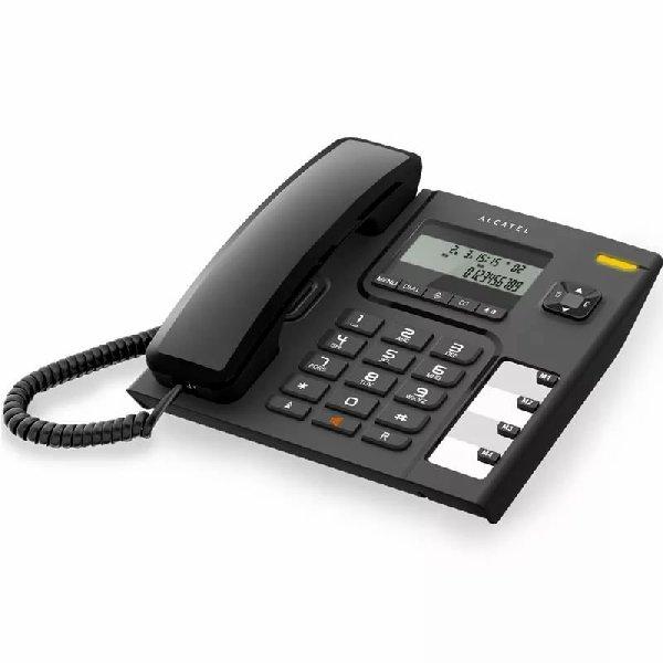 Телефон проводной Alcatel T56 чёрный