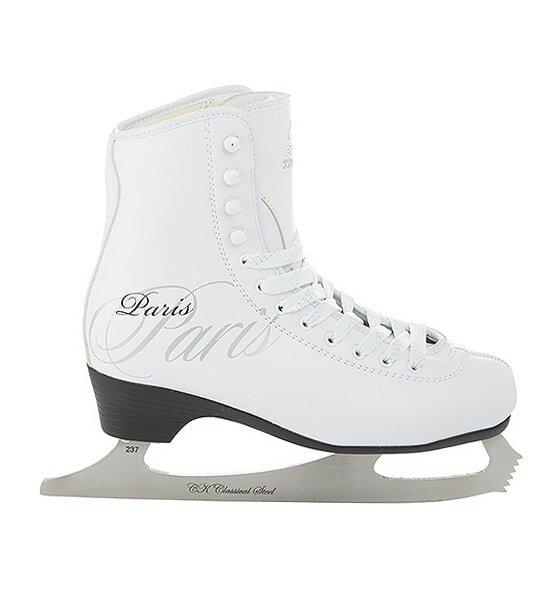 Фигурные коньки PARIS LUX tricot (Белый (32))