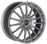 Колесный диск OZ Racing SUPERTURISMO LM MATT RACE SILVER BLACK LETTERING 8xR18 ET45 5*114.3 D75 - фото 1