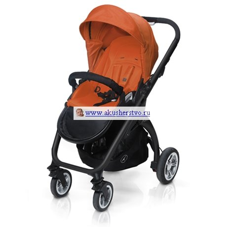 Прогулочная коляска Casualplay Kudu 4 920 Flamingo (шасси Black)