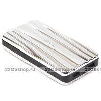 Универсальный внешний аккумулятор Yoobao Zeus Power Bank YB-666 Silver 20400 mAh два выхода USB 5V 1A & 5V 2A