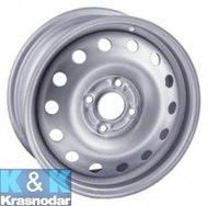 Trebl 53A43C 5.5x14 4x100 ET43 60.1 Silver - фото 1