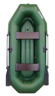 Аква-Оптима 260 НД - гребная надувная лодка ПВХ с надувным дном