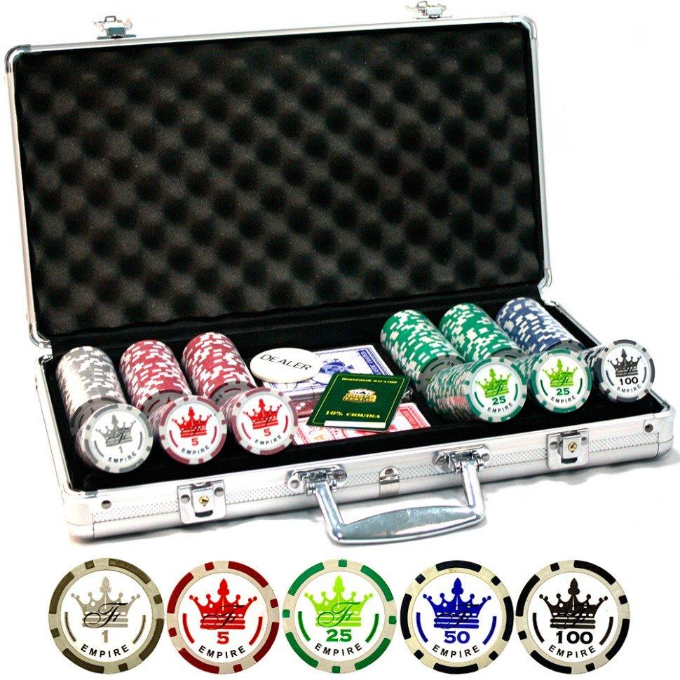 Набор для покера Empire 300 фишек