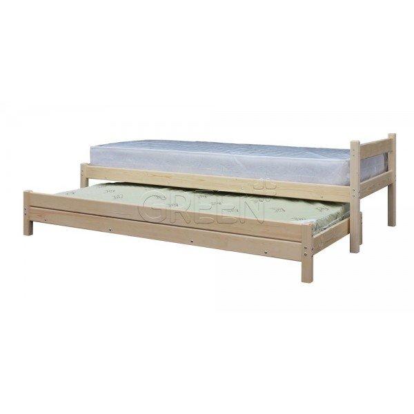 Кровать с выдвижным спальным местом 2 в 1