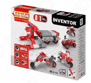 Конструктор-игрушка Engino Pico Builds / INVENTOR PB22 «Мотоциклы»