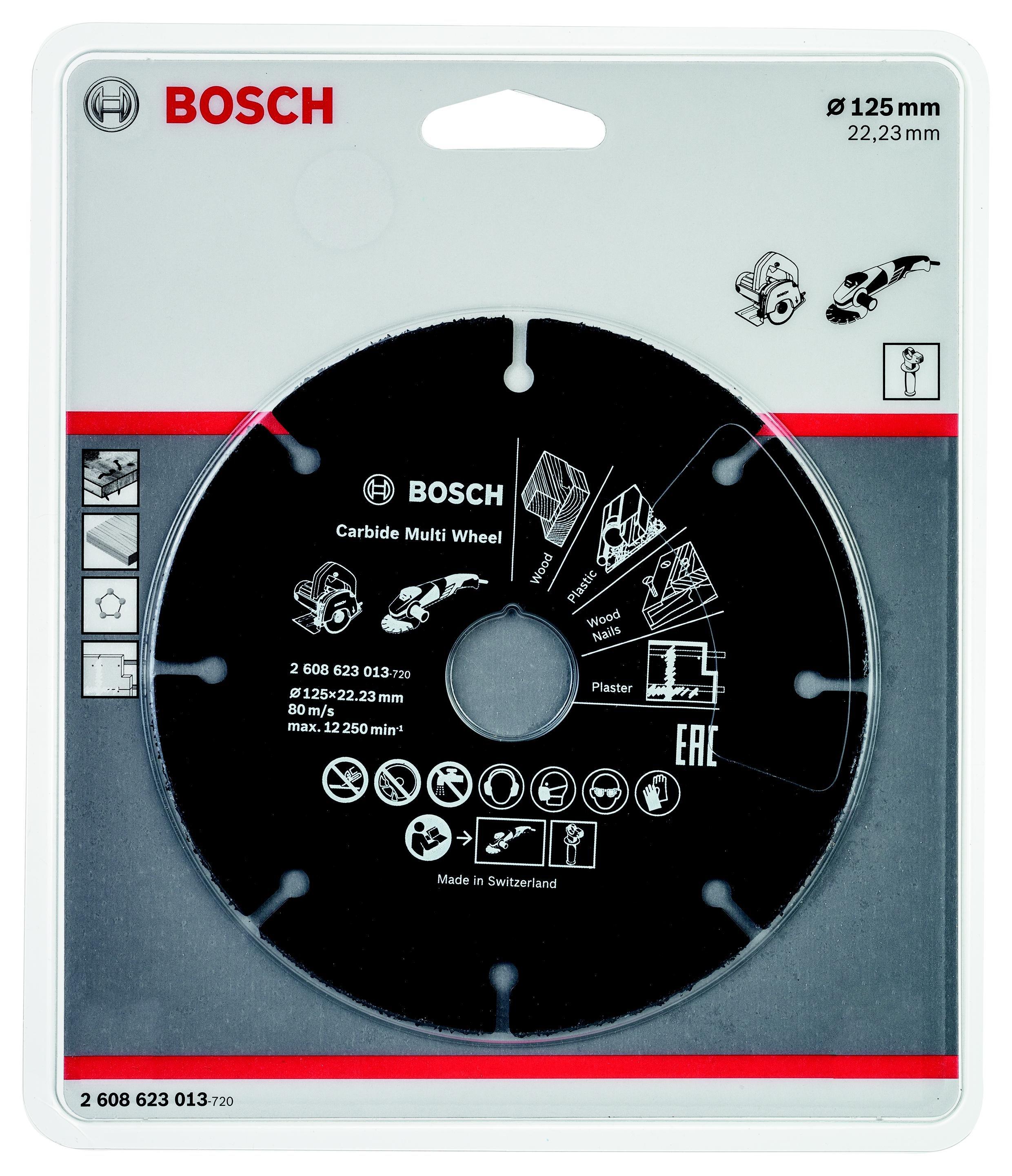 Круг отрезной Bosch 125х22 (2.608.623.013)