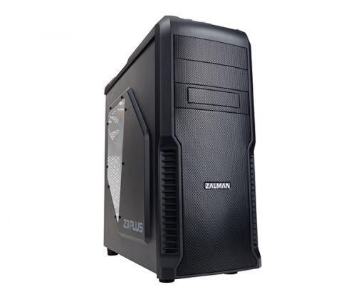 Корпус ATX Zalman Z3 Plus черный, без БП (4x120mm,USB2.0 x 2 + USB3.0,Audio)