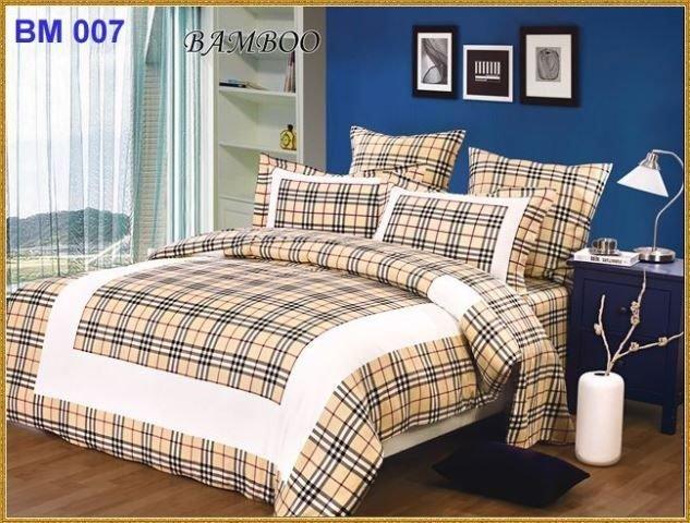 BM007 - постельное белье - бамбук - евро