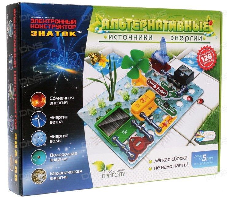 Электронный конструктор Знаток 70096 Альтернативные источники энергии