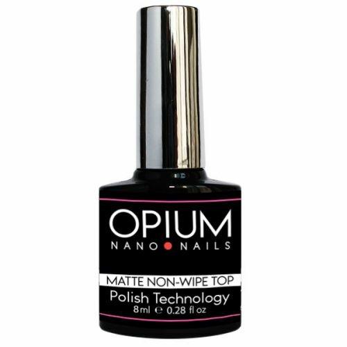 Матовое завершающее покрытие без липкого слоя Topmat, 8мл (Opium Nail)