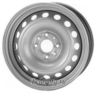 Диск Magnetto Wheels 13001 5x13/4x98 D58.6 ET35 Silver - фото 1