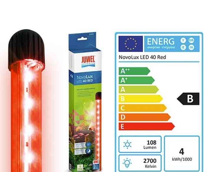 Светильник Juwel NovoLux LED 40 красный