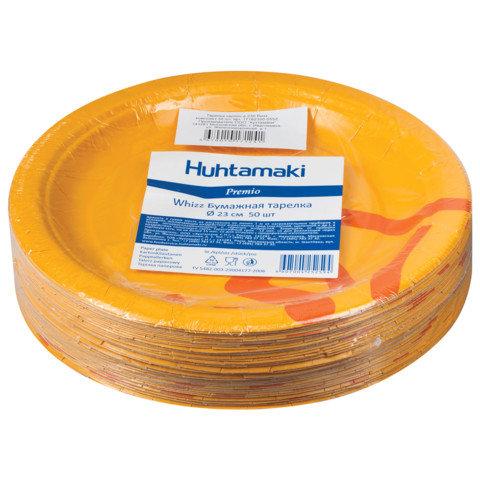 """Одноразовые тарелки """"Whizz"""", 50 штук, 23 см"""