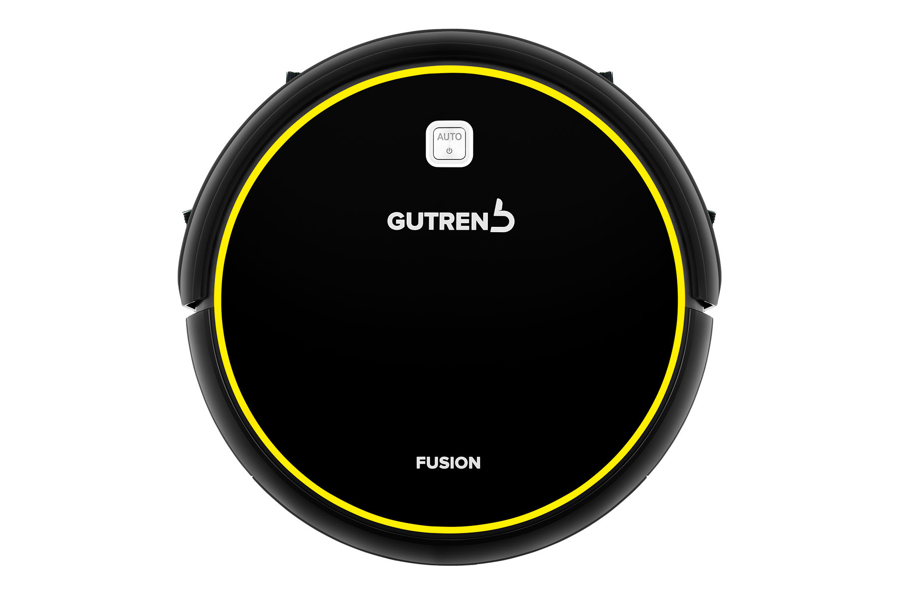 Робот-пылесос GUTREND FUSION 150 чёрный/желтый