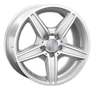 Колесные диски Replica Mercedes MR64 7,5х17 5/112 ET47 66,6 MBF - фото 1