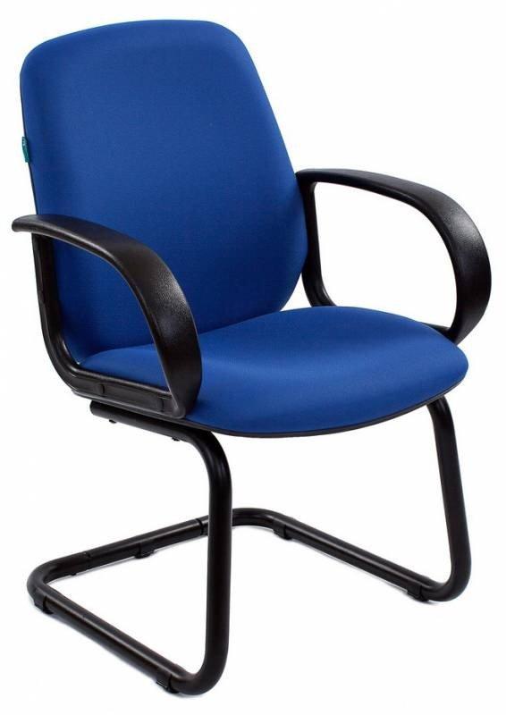 Кресло Бюрократ CH-808-LOW-V/BLUE низкая спинка синий 15-10