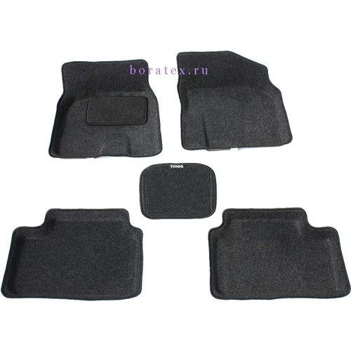 3d ковры BORATEX для Vortex Tingo темно-серый 2010-