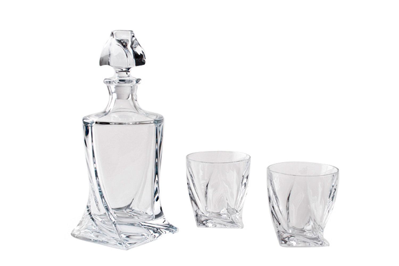 Набор для виски Crystalite Bohemia Квадро
