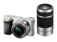 Фотокамера Sony Alpha A6000 ILCE-6000 , kit 16-50 + 55-200, серебро