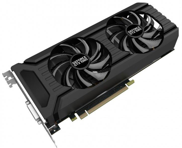 Видеокарта nVidia GeForce GTX1060 Palit Dual PCI-E 6144Mb