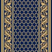 Ковровая дорожка Витебские ковры Версаль синий