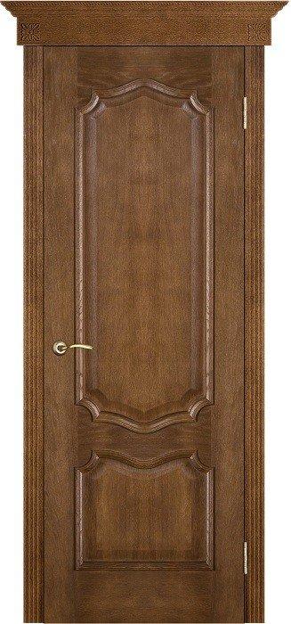 Межкомнатные двери Белорусские Двери (Белорусские Двери) Белорусские Двери Шпон Премьера Каштан Глухая
