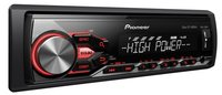Автомагнитола Автомагнитола Pioneer MVH-280FD USB MP3 CD FM 1DIN 4x100Вт черный