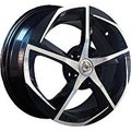 NZ Wheels SH654 6.5x16 5x114.3 ET 45 Dia 60.1 BKF - фото 1