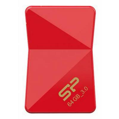 Флешка Silicon Power 32Gb Jewel J08 USB3.0 красный SP032GBUF3J08V1R