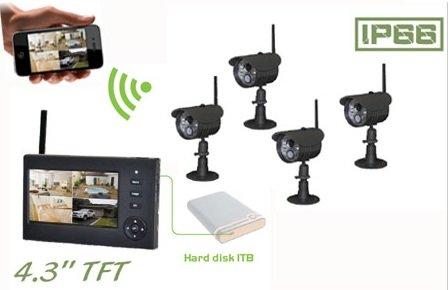 Видеонаблюдение Goscam 8108JT Remote Home Surveillance
