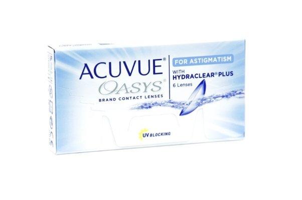 Контактные линзы Acuvue Acuvue Oasys for Astigmatism 6 шт (8.6, +2.25, 30, 1.25)